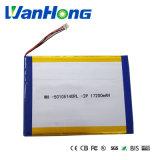 batteria del Li-Polimero di 50105149pl 2p 17200mAh per il ridurre in pani PC/E-book