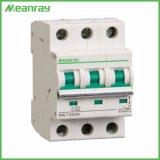 De elektro MiniStroomonderbreker van de Lucht van de Capaciteit van de Stroomonderbreker MCB 2p 20AMP van gelijkstroom 400V 6ka Brekende