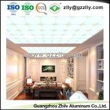 Matériaux de construction en aluminium plafond suspendu polymériques Conseil avec la norme ISO9001