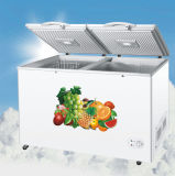 2017 singolo congelatore superiore popolare della cassa del portello 350L di grande capienza