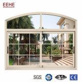 Конструкция решетки сползая окна покрытия PVDF алюминиевая