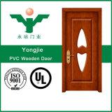 Modèle de porte de salle de bains de PVC
