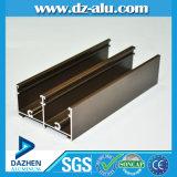 Le profil d'extrusion en aluminium le plus chaud pour la porte de guichet