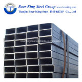 Tubi del acciaio al carbonio/tubo d'acciaio quadrato nero (Q235B, ASTM A36, SS400, S335JR)
