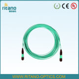 Отрезки провода тесемки волокна MPO-LC оптически