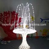 Gran Fuente de LED de color blanco decoración exterior