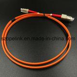 Cables de conexión de cable de fibra óptica SC/UPC LSZH