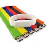 Привод вспышки USB браслета подарков промотирования PVC OEM с подгонянным логосом
