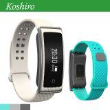 Bluetoothのスマートな歩数計の心拍数の血圧のブレスレット
