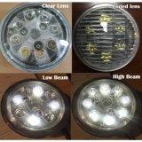 """Indicatori luminosi rotondi del lavoro del trattore del fascio sigillati LED PAR36 4.5 """" 24W"""
