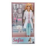 Docteur Career Fashion Doll Toy de 11.5 pouces avec des accessoires pour la fille