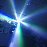 Mini6*15w RGBW 4 in 1 Augen-beweglichem Kopf des LED-Stadiums-Licht-B