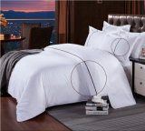 Conjunto de lino 100% de la hoja de base del lecho de la materia textil del hotel del algodón de la alta calidad