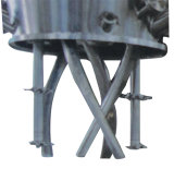Vedador do silicone do agregado familiar do misturador máquina de mistura planetária da potência do dobro de 5 litros