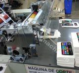 Pantalla táctil de fieltro automática de film adhesivo Troquelado máquina