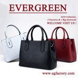 Sacs de main en cuir de mode de sac d'emballage de cuir véritable de femmes de sac de main de dames de promotion Emg5223
