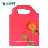 Meilleure vente Environment-Friendly diverses fleurs forme un sac de shopping personnalisé