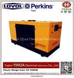 24kw/30kVA al generatore diesel silenzioso 160kw/200kv alimentato da Lovol-Perkins Engine-20171012m