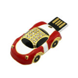 Wasserdichter Luxuxauto 8GB USB-Feder-Laufwerk-Flash-Speicher-Stock