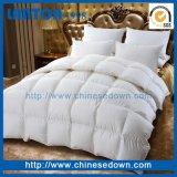 Dell'anatra Comforter bianco giù con cotone puro per la base di regina