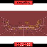 Factory Design impression en sublimation estimé de tisonnier de casino Baccarat Présentation Présentation de tableau avec 8 Lecteur de couleur rouge (YM-BL100G)