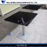 Tw New Design Curved Outdoor Dining Table / Marble Top Tea Table / Corian Coffee Table (TW-DNTB-00209)