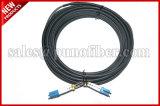 De openlucht DuplexIP67 Optische Kabel van de Vezel ODVA LC verzegelde het CirkelKoord van het Flard