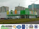 Centros comerciales prefabricados de la estructura de acero de los edificios comerciales modulares