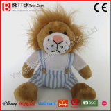 Leão macio animal enchido En71 do bebê dos brinquedos do luxuoso para miúdos
