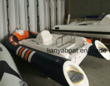 Liya 3,3 m pequenos barcos de concurso de fibra de vidro para venda