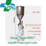 手動充填機A50の手動のりのステロイドの液体の詰物のための液体の二重用途の充填機