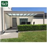 Couvercle en polycarbonate robuste en aluminium Patio, balcon, une terrasse extérieure couvrir d'auvent