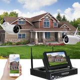 ホーム店の機密保護のためのP2p WiFiのカメラシステム4CH NVRキット