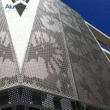 アルミニウムクラッディングの壁のアルミニウム正面システム