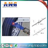 Mola de UHF RFID passiva flexível Fio Etiqueta Transponder de pneu dos pneus