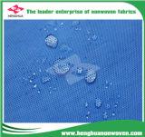 Tela no tejida del polipropileno de la prueba del agua para los bolsos