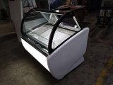 Minieiscreme-Gefriermaschine-/Countertop-Bildschirmanzeige-Gefriermaschine/Popsicle-Schaukasten-Schrank