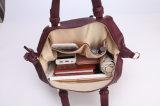 広州の工場新しいデザイナーPUのTote Women Bag革余暇の方法女性