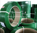 Зеленый цвет тисненой Jumbo Frames валика ремешок для ПЭТ
