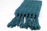 Ананас Unisex зимы теплый шьет шарф классицистических краев тяжелый связанный (SK169)