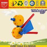 Blocs de construction en plastique de jouets éducatifs, bricolage les animaux de zoo série