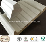 Porte de bonne qualité d'OEM et d'ODM et châssis de fenêtre en bois
