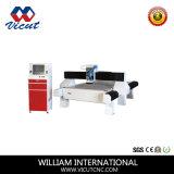 Único CNC da cabeça que cinzela a máquina de gravura do Woodworking (VCT-1530W)