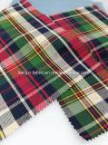 Il filo 100% di cotone pronto del tessuto ha tinto l'assegno Fabric-Lz7155 della saia