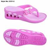 Розовый высокого каблука EVA Flip флопе для женщин