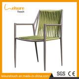 호텔 여가 알루미늄 가정 옥외 접는 의자 정원 가정 식사 직물 안뜰 가구