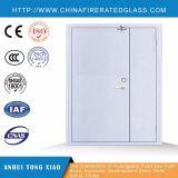 Puerta cortafuego de acero de la hoja desigual de la puerta