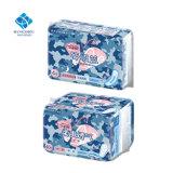 280mm dia macio de algodão Wingless Use conservo absorventes higiênicos com saco de Alumínio