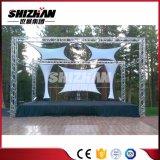背景のための200X200mmアルミニウムボルト正方形のトラス