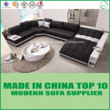 Mobilia europea del sofà del cuoio del salone di stile